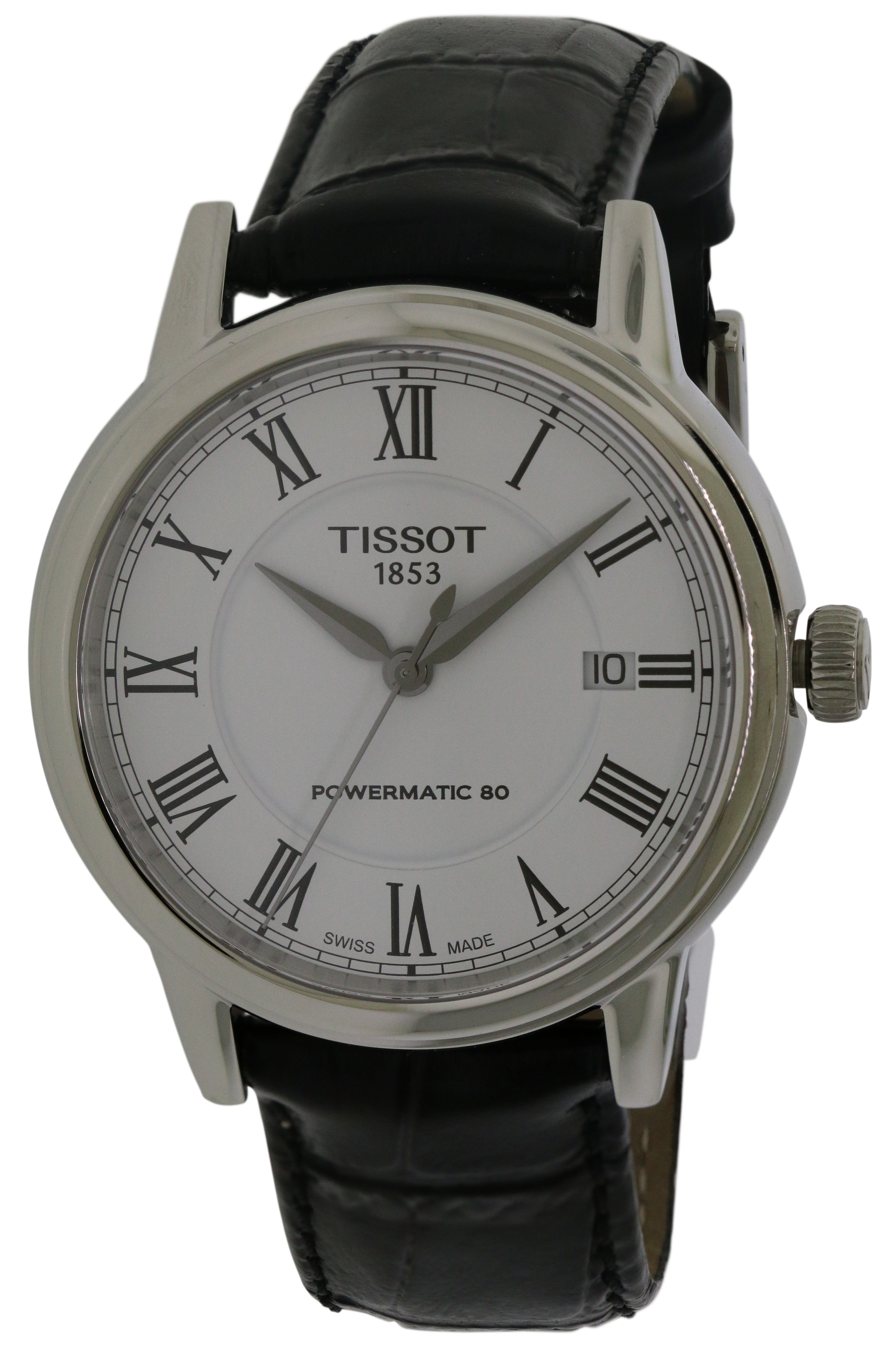 Tissot Carson Leather Automatic Mens Watch T0854071601300