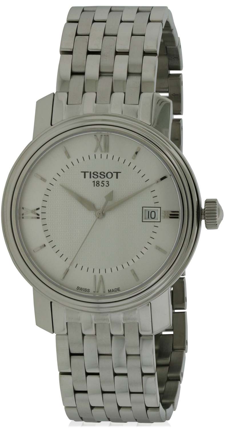 Tissot Bridgeport Stainless Steel Mens Watch T0974101103800