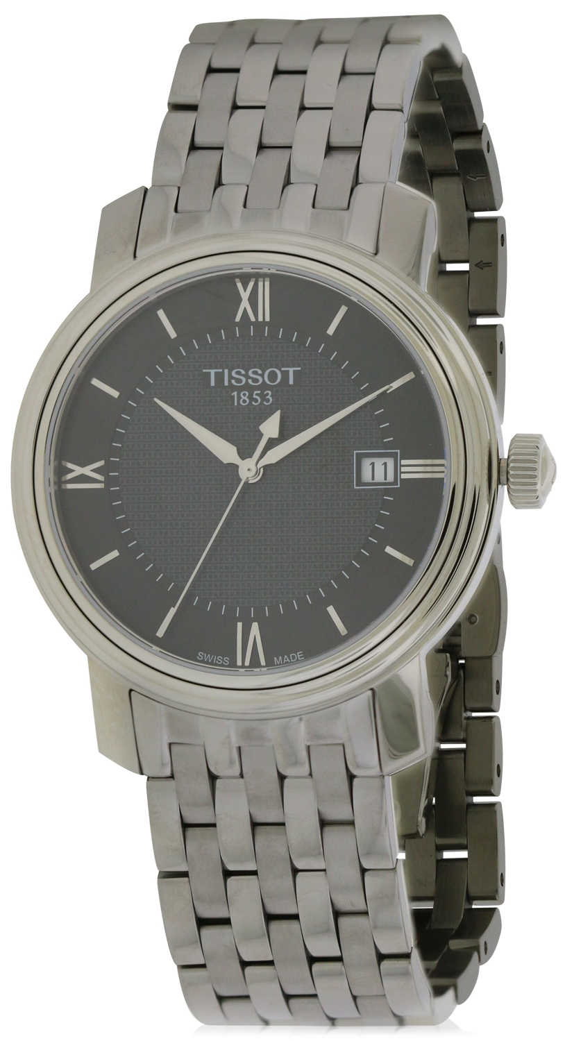 Tissot Bridgeport Stainless Steel Mens Watch T0974101105800