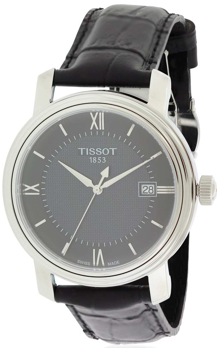 Tissot Bridgeport Leather Mens Watch T0974101605800