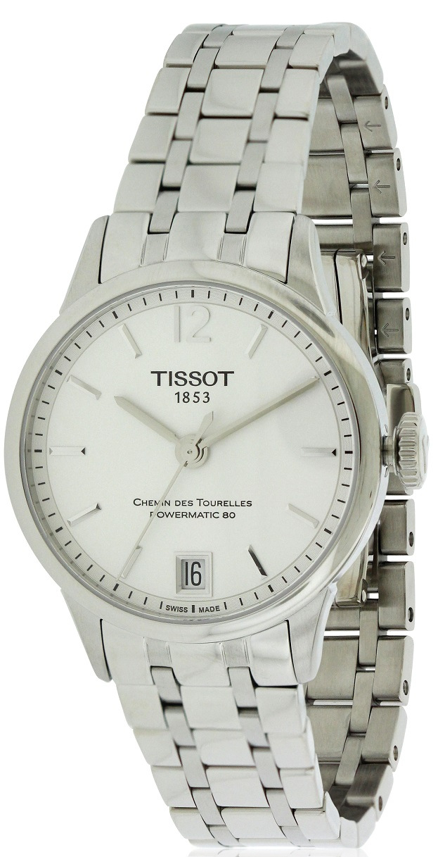 Tissot Chemin Des Tourelles Automatic Stainless Steel Mens Watch T0992071103700