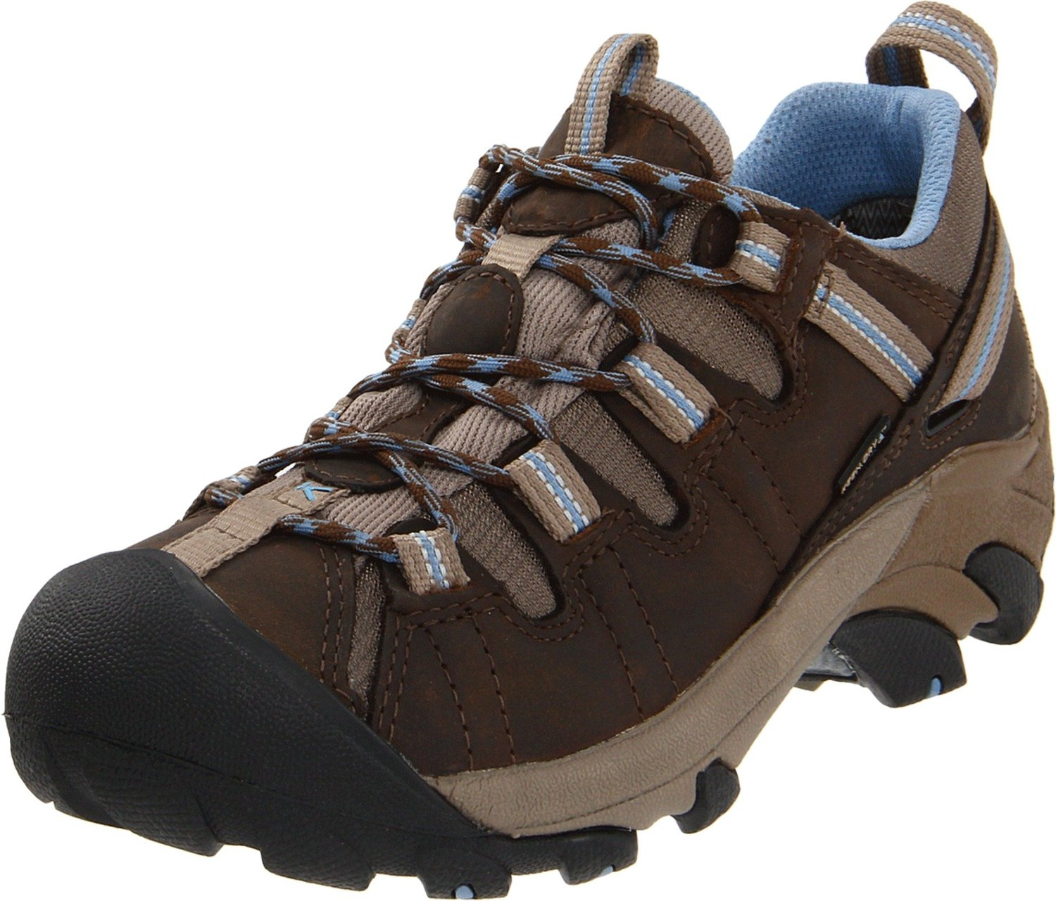 KEEN Womens Targhee II Hiking Shoe - Brown - Size 7