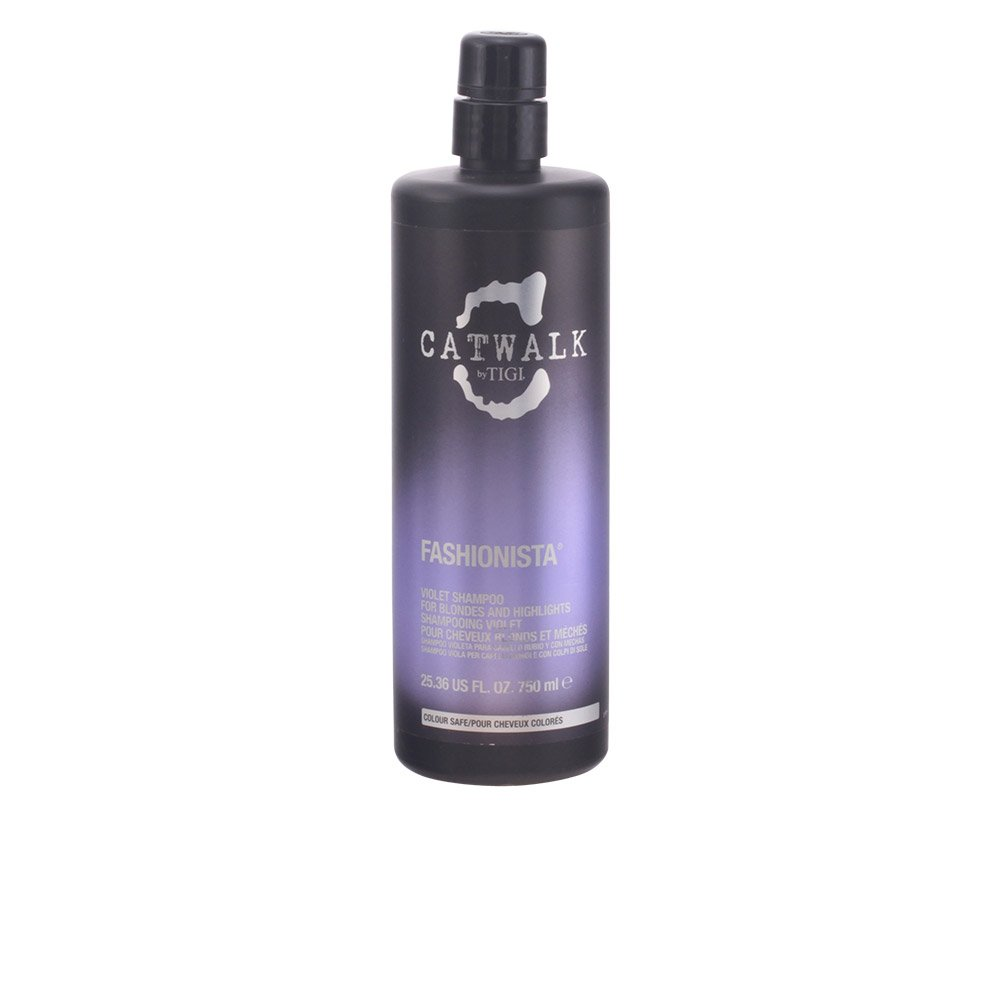 Tigi Catwalk Fashionista Violet Shampoo for Unisex - 25.36 Ounce