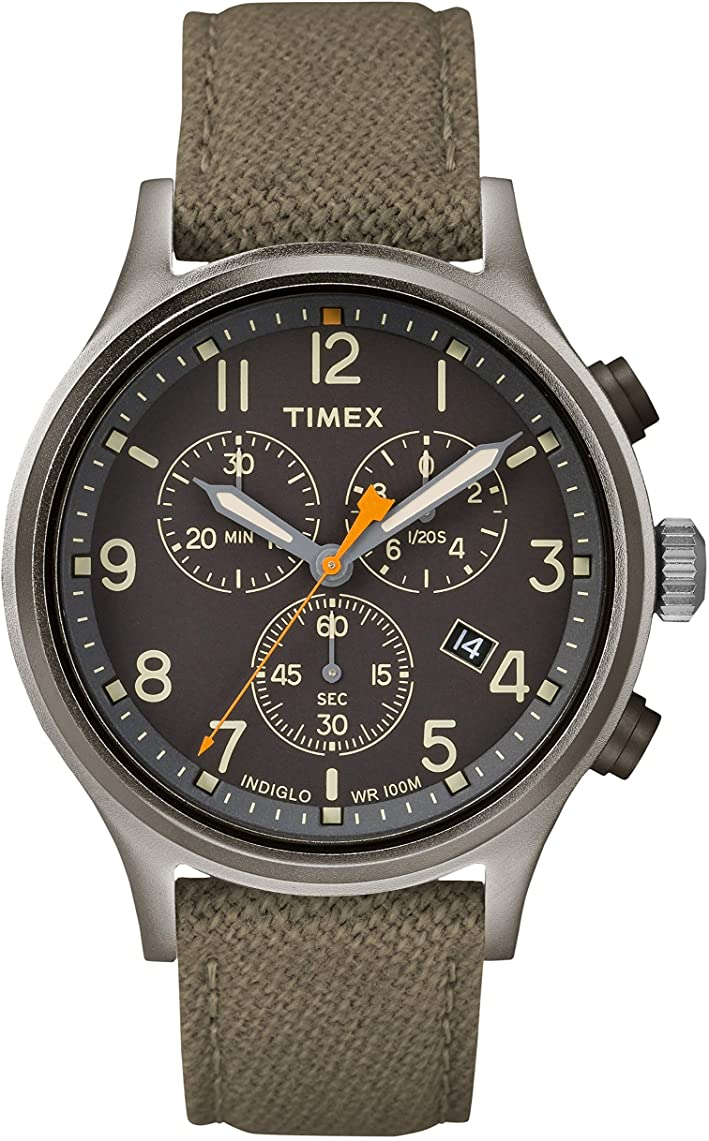 Timex Allied Chronograph Nylon Mens Watch TW2R47200