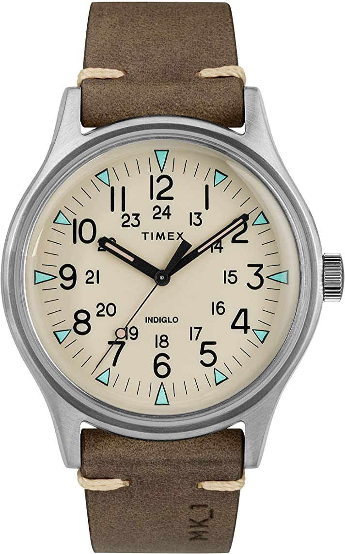 Timex MK1 Leather Mens Watch TW2R96800