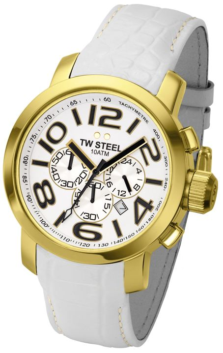 TW STEEL Grandeur Chronograph 45MM Mens Watch TW55