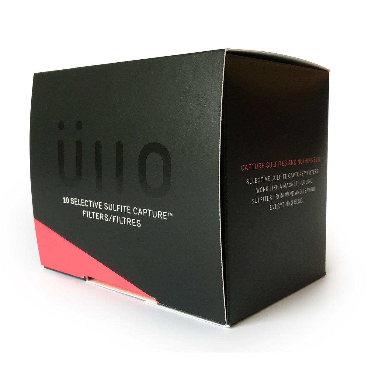 Ullo Replacement Filters (10 Pack) -  Selective Sulfite Capture Technology -  Restore the Natural Purity of Wine
