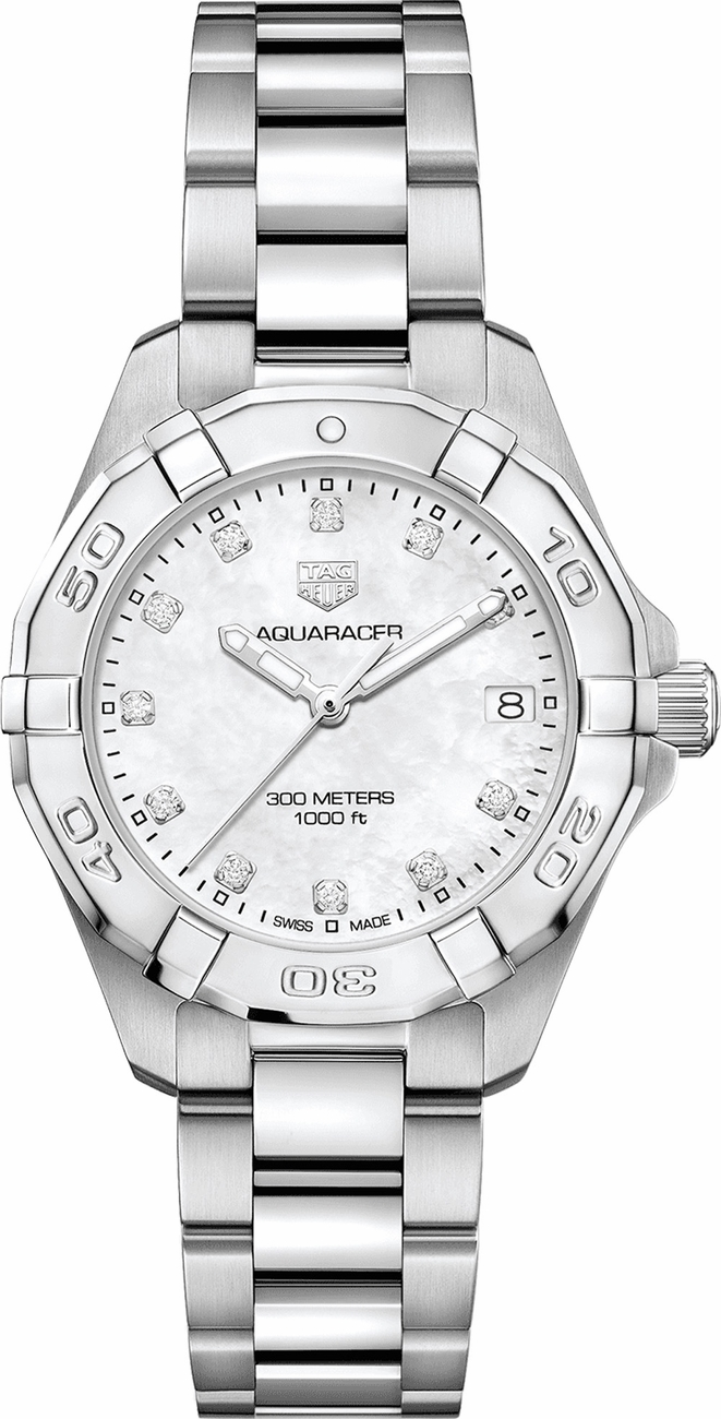 Tag Heuer Aquaracer Diamond Ladies Watch WBD1314.BA0740