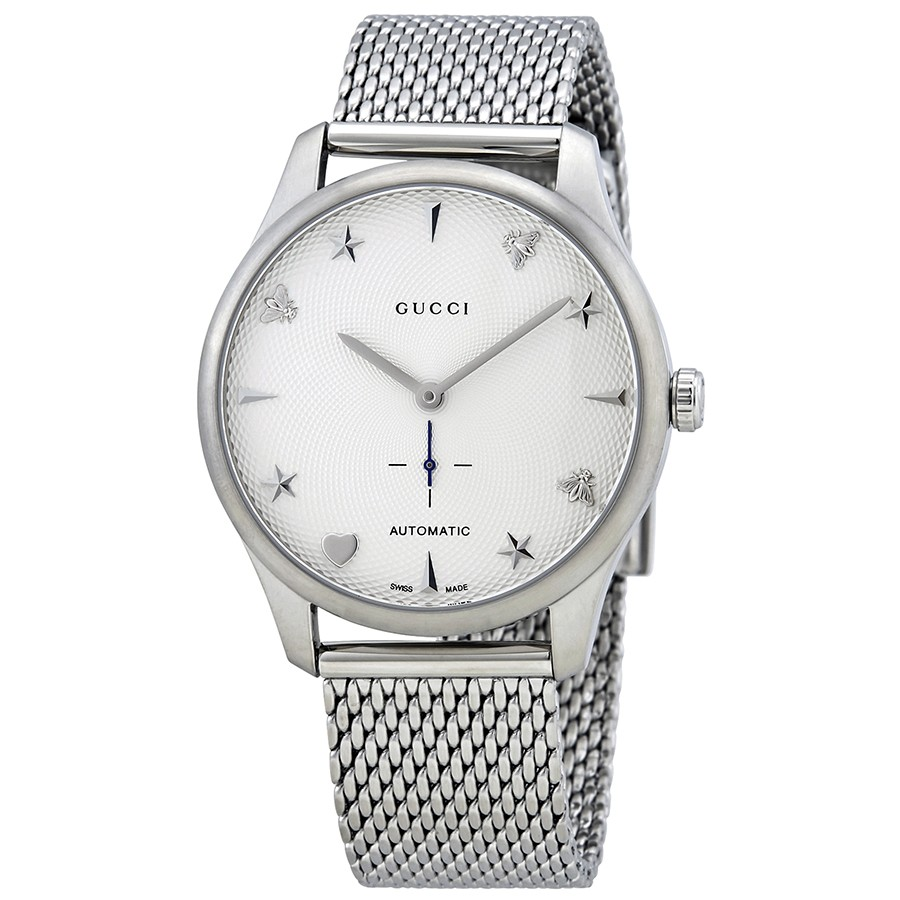 Gucci G-Timeless Automatic Ladies Watch YA126330