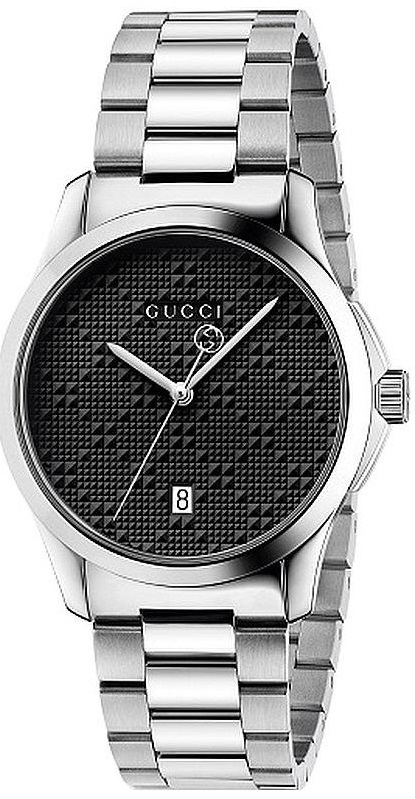 Gucci G-Timeless Stainless Steel Mens Watch YA126460