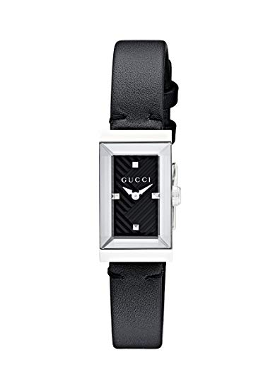 Gucci G-Frame Black Dial Ladies Watch YA147504