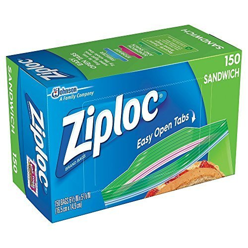 Ziploc Sandwich Bags - Pack of 150
